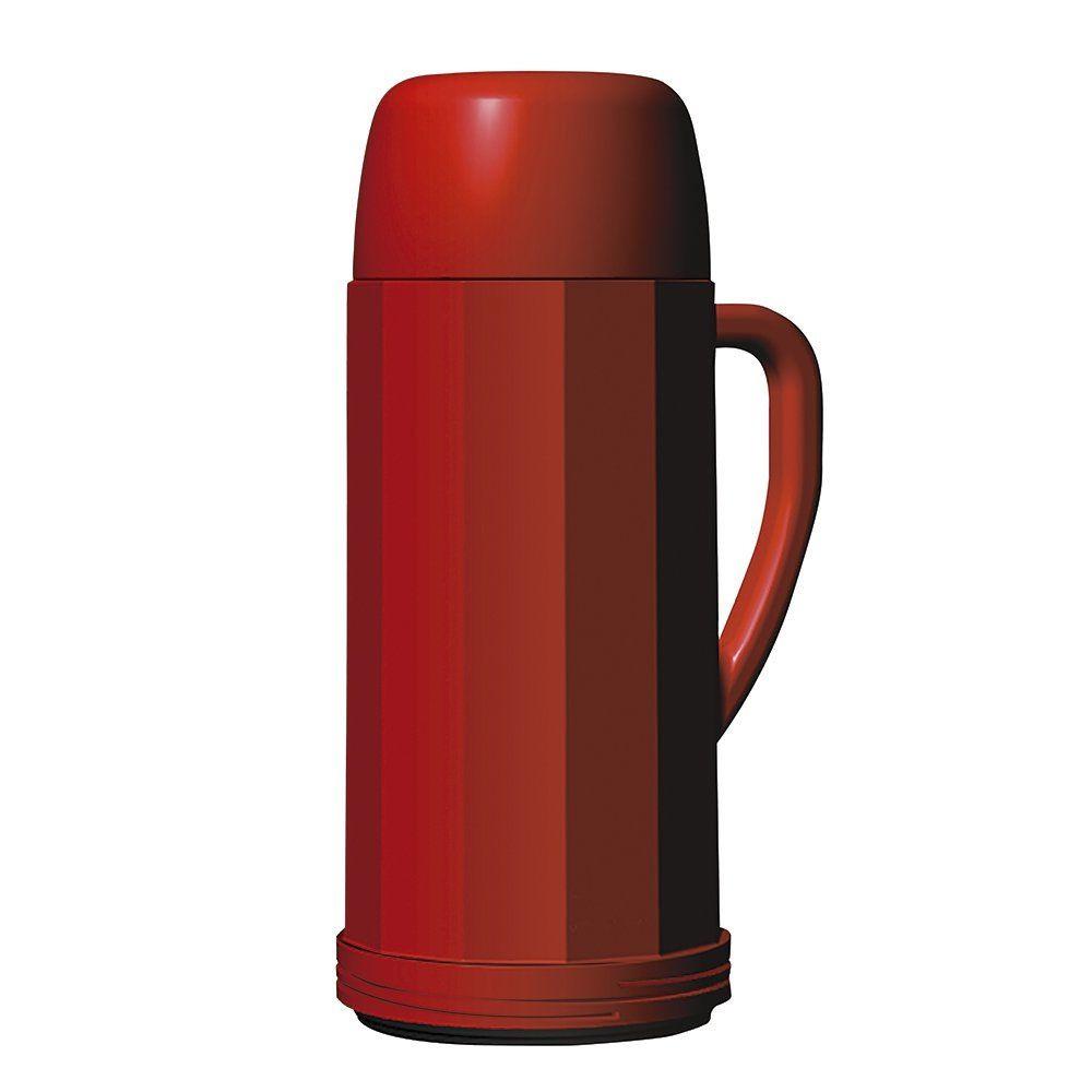 Garrafa Termica Eureka Vermelha 0,75L