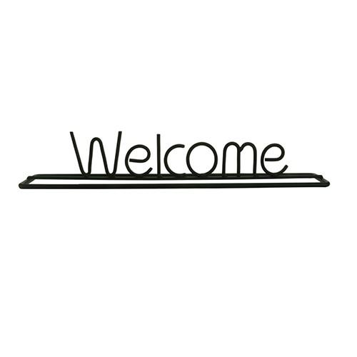 Letras Decorativas Welcome 25x4,3x4cm