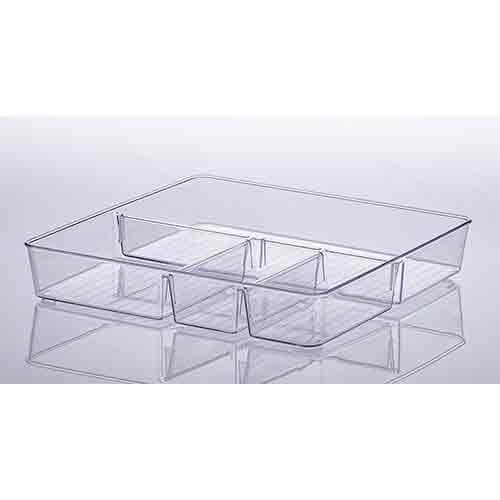 Organizador Diamond com Divisorias 31X31X5 cm