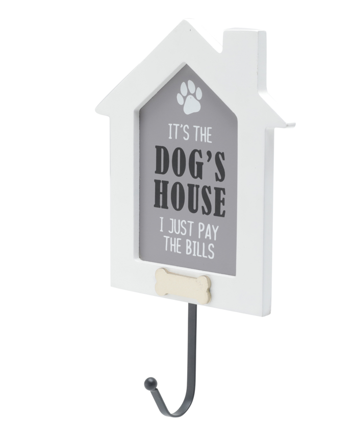 Placa Dogs House 15X4,5X23,5 cm