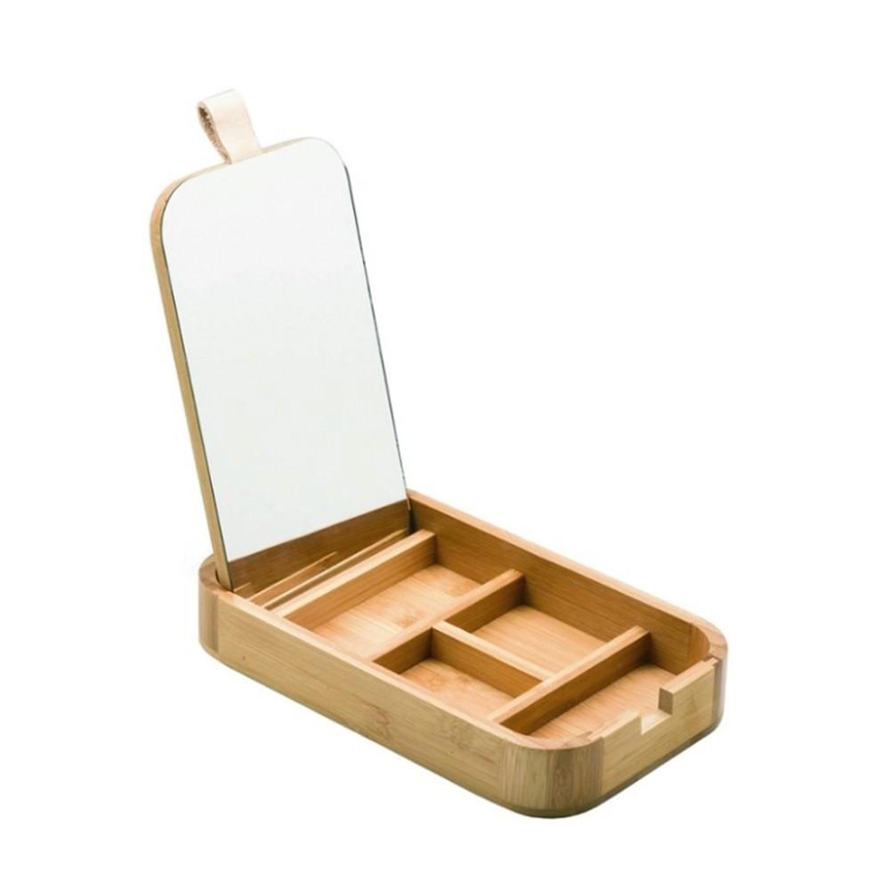 Porta Cosmeticos de Bambu