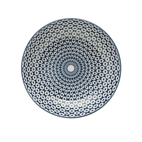 Prato de Porcelana Geometric