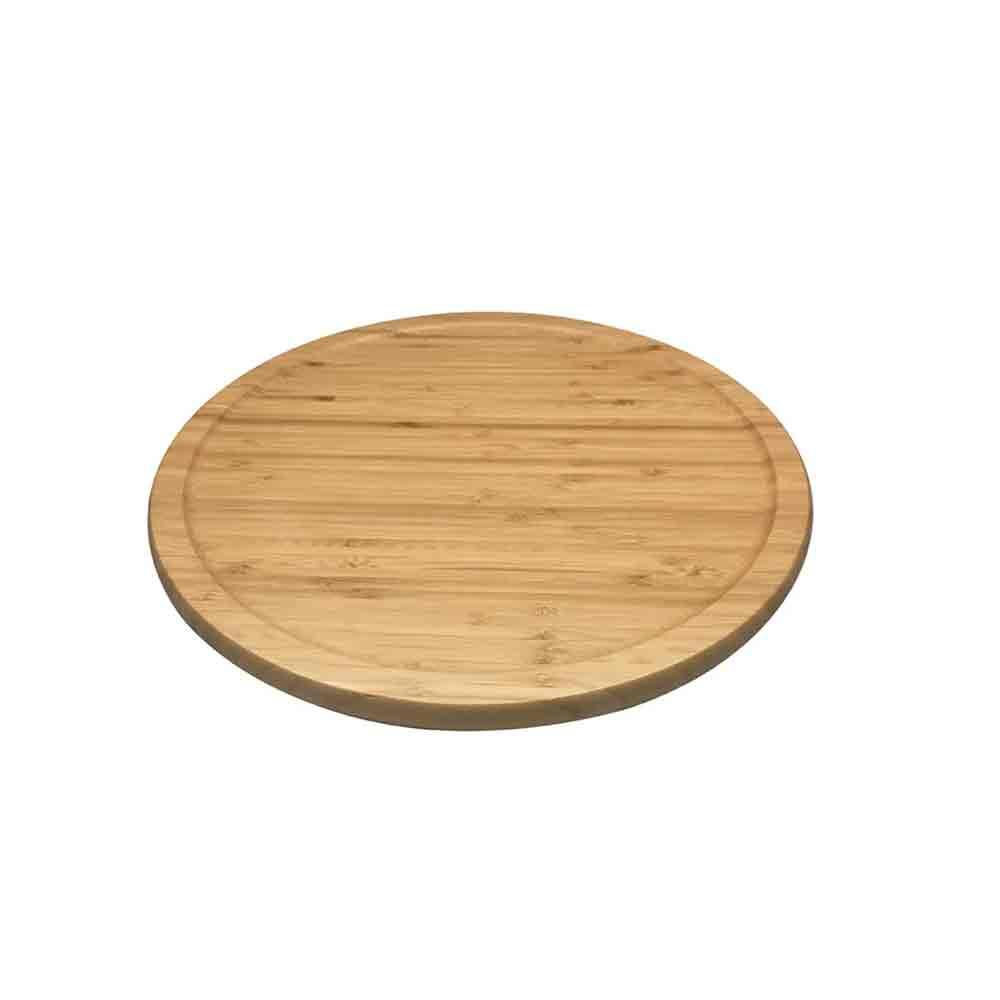 Tabua de Bambu com Base Giratória