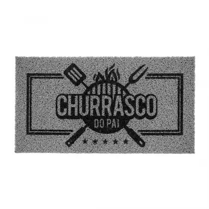 VINIL SUPER PRINT CHURRASCO DO PAI 40CM X 75CM