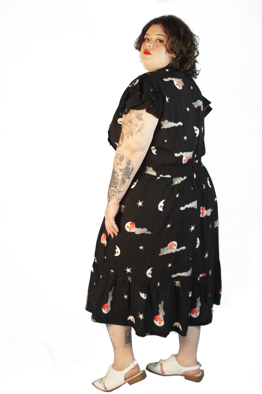 Vestido astros preto