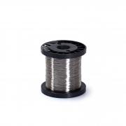 Arame de Aço Inox 0.30 para aramar quadros - 500g (aprox. 800m)