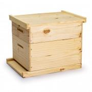 Colmeia para abelhas ninho e melgueira - simples