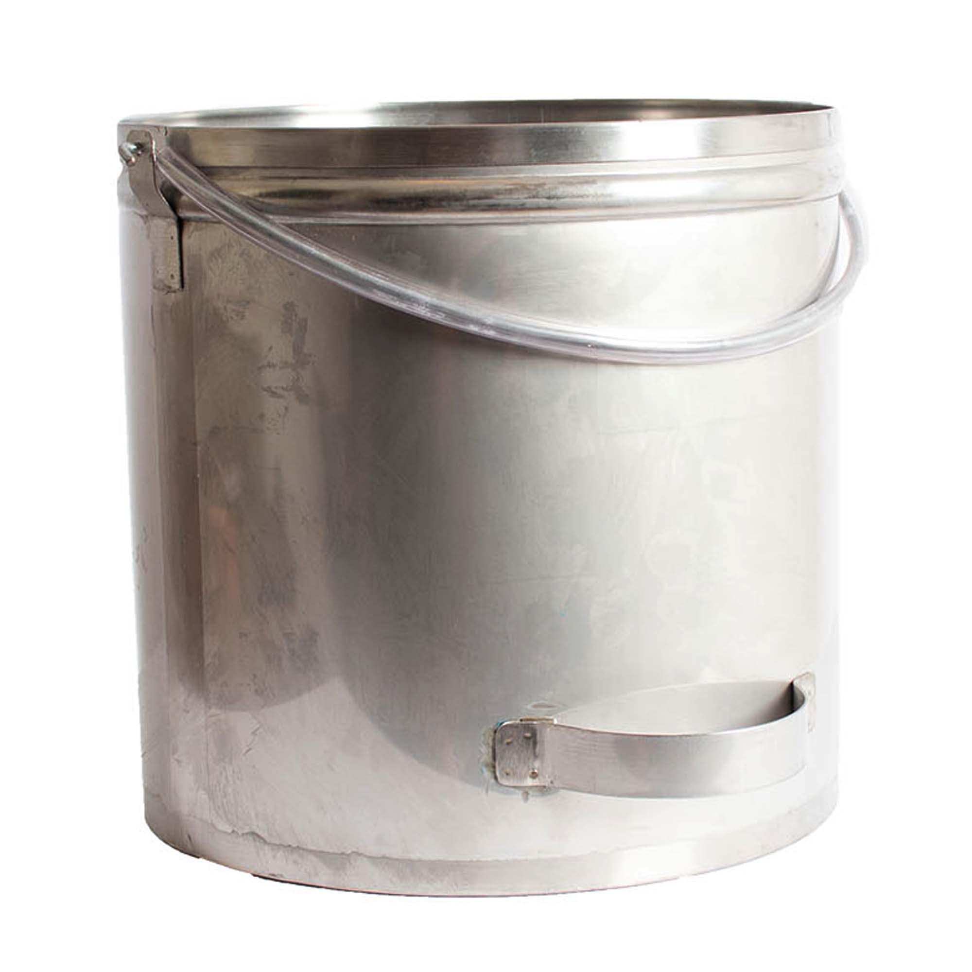 Balde em aço inoxidável - 20 litros
