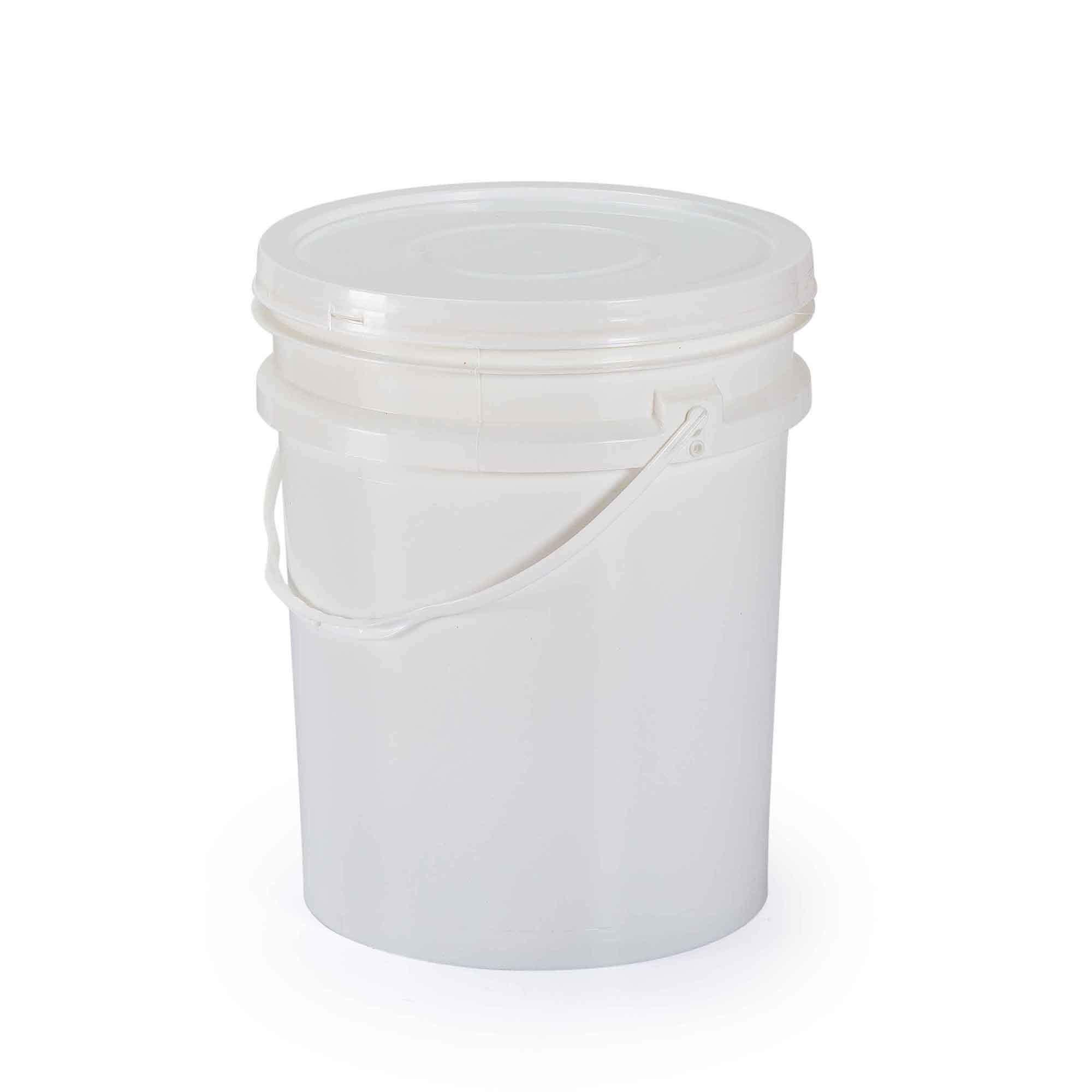 Balde para mel plástico com tampa - 20 litros reforçado