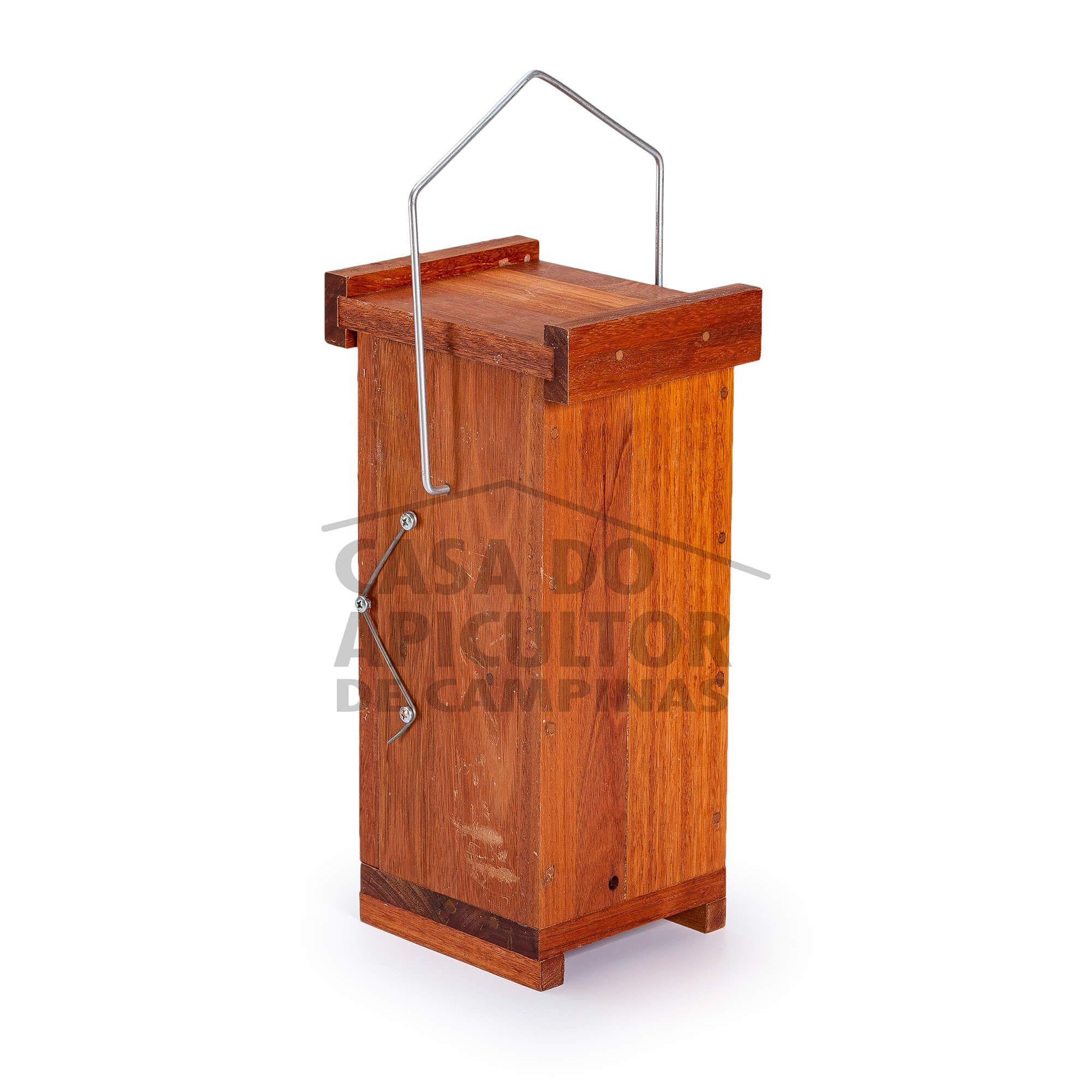 Colmeia Abelha Jatai - Modelo Vertical Eucalipto