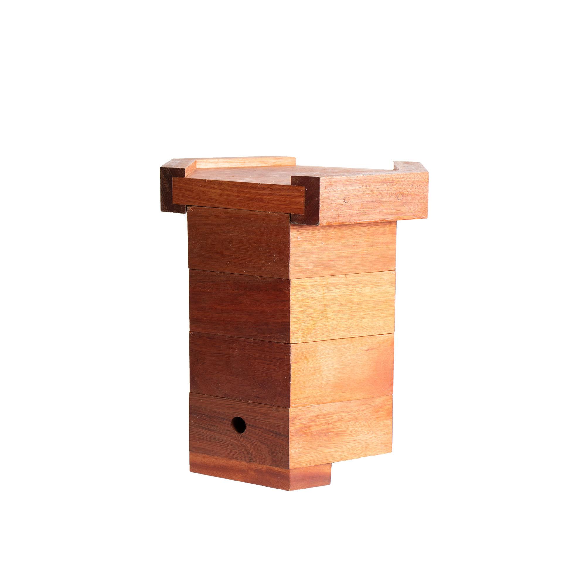 Colmeia Sextavada para abelhas sem ferrão - Eucalipto 30mm