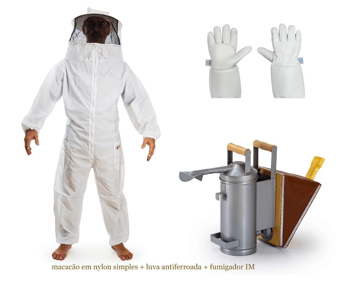 Combo apicultura iniciante segurança