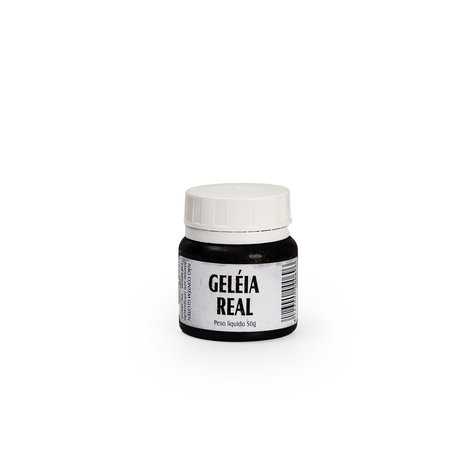 Geleia real 50g - com embalagem térmica