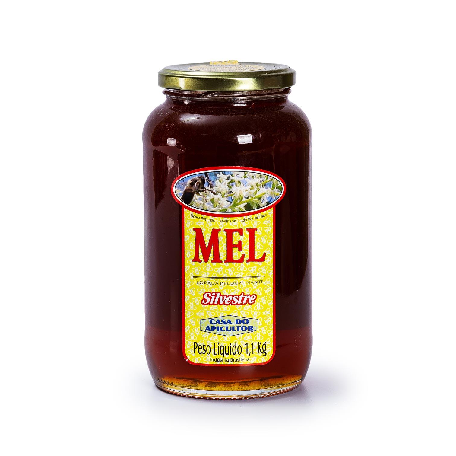 Mel Silvestre 1,1Kg - Casa do Apicultor