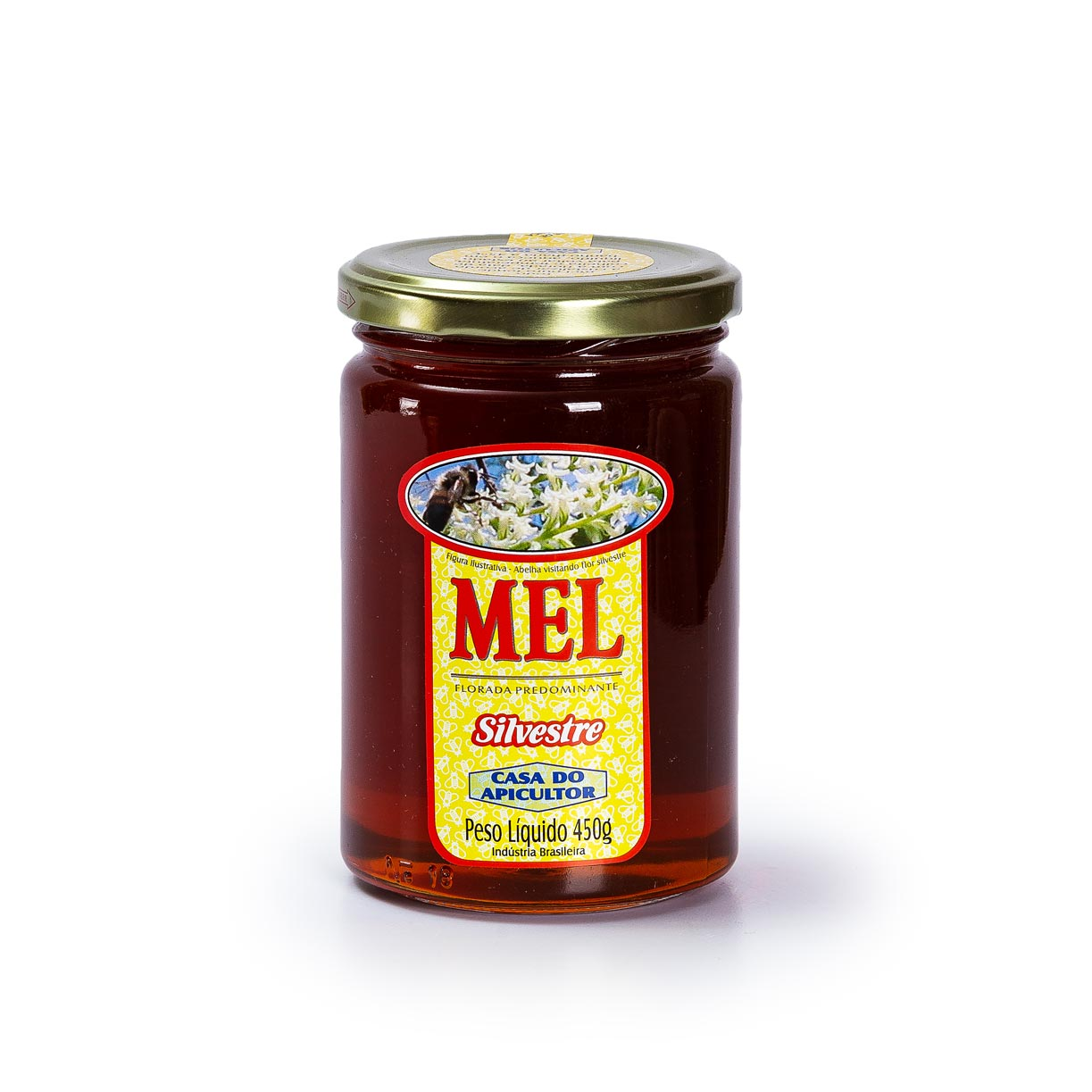 Mel Silvestre 450g - Casa do Apicultor
