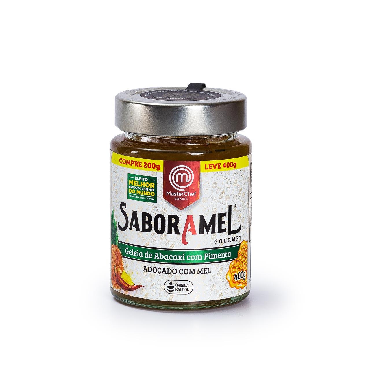 Saboramel 200g Abacaxi com pimenta