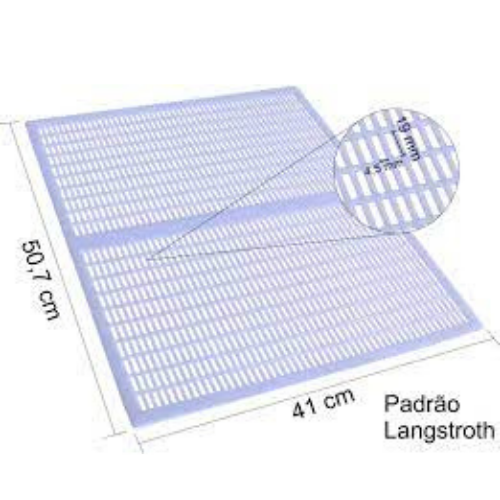 Tela excluidora de melgueira - Plástico