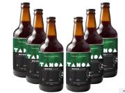 KIT TANOA OLD ALE - Wood Aged: Jaqueira Castanheira Amburana (6 unidades) 500 ml