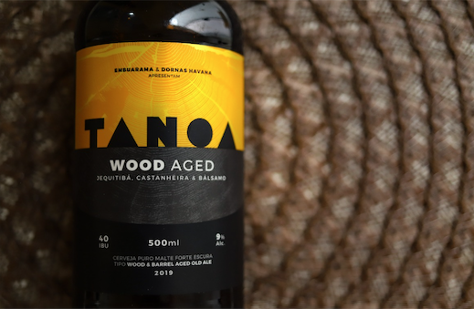Cerveja Artesanal Tanoa Old Aged - Wood Aged: Castanheira, Jequitibá e Bálsamo