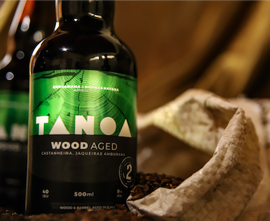 Cerveja Artesanal Tanoa Old Aged - Wood Aged: Jaqueira, Castanheira e Amburana