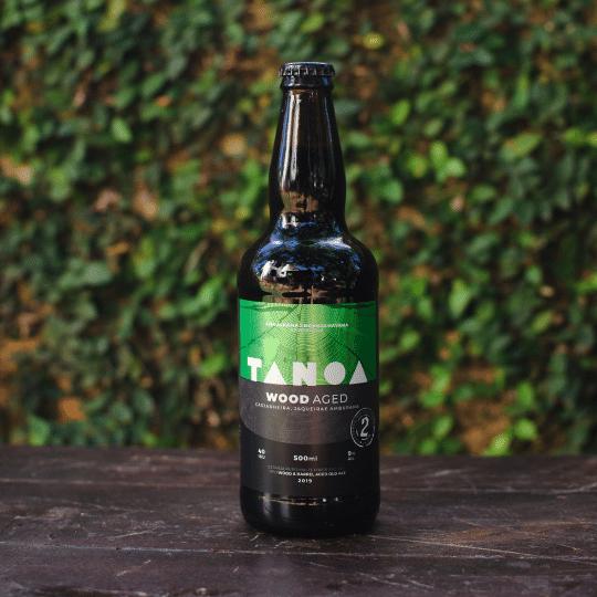 Cerveja Artesanal Tanoa - Old Aged; Jaqueira, Castanheira e