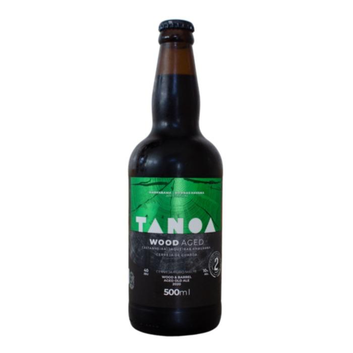 Cerveja Artesanal Tanoa Old Aged- Wood Aged 2 - Safra 2020 - 500ml