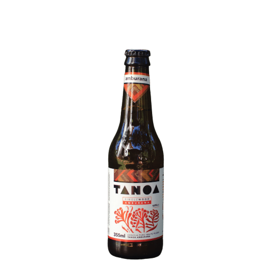 Cerveja Artesanal Tanoa Pilsen - SIngle Wood Amburana - 355ml