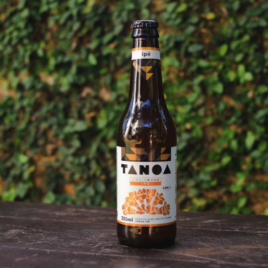 Cerveja Artesanal Tanoa Pilsen - Single Wood: Ipê - 355 ml