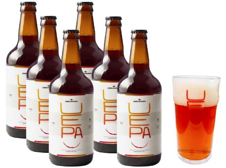 Cerveja Artesanal UEPA - IPA (500ml)  6 unidades + Paint 590ml