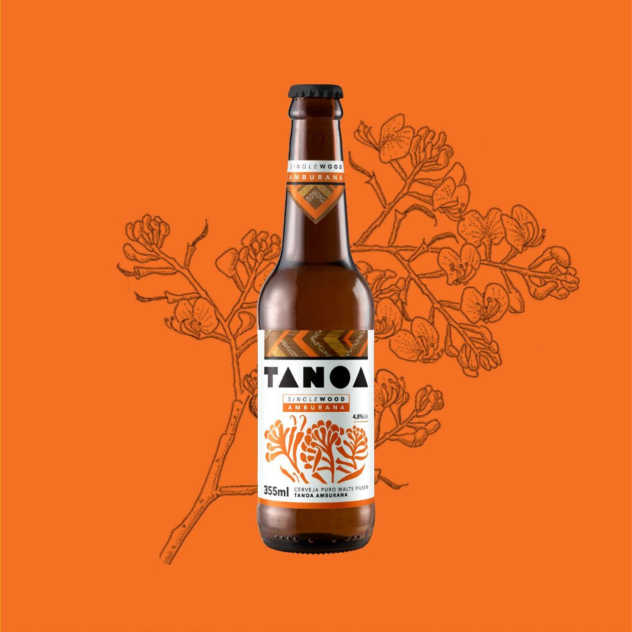 TANOA PILSEN - Single Wood: Amburana (6 unidades) 355 ml