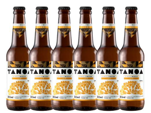 TANOA PILSEN - Single Wood: Ipê Amarelo (6 unidades) 355 ml