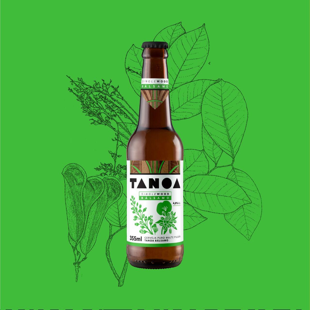 TANOA PILSEN - SIngle Wood: Bálsamo (6 unidades) 355 ml