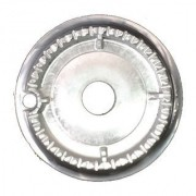 Bacia Alumínio Dentada Atlas Utop C/Automático Média