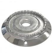 Bacia Alumínio Dentada Mabe c/furo Grande