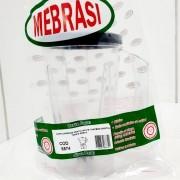 Copo Cristal CAD PRAT TRAPEZ PRET - Mebrasi