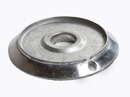 Bacia Alumínio Dako Luna c/furo Grande