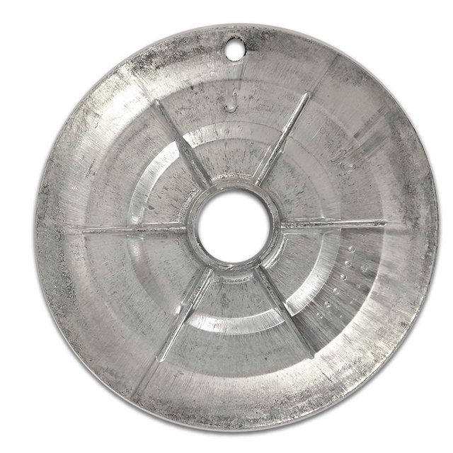 Bacia Alumínio Dentada Mabe c/furo Gigante