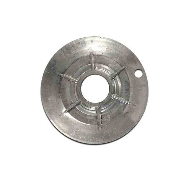 Bacia Alumínio Dentada Mabe c/furo Pequena