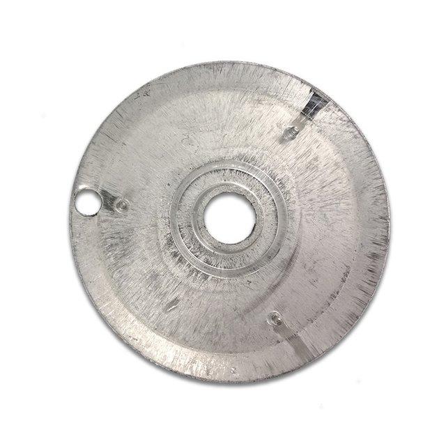 Bacia Alumínio Muller C/Furo Grande
