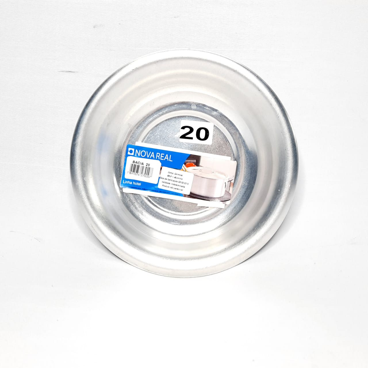 Bacia de Alumínio N 20 Real