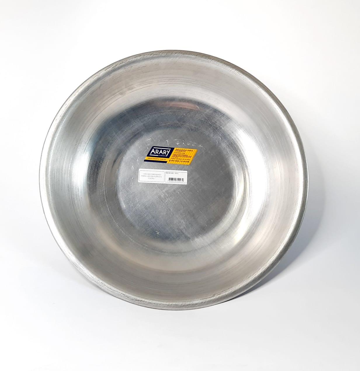 Bacia de Alumínio N 45 Arary