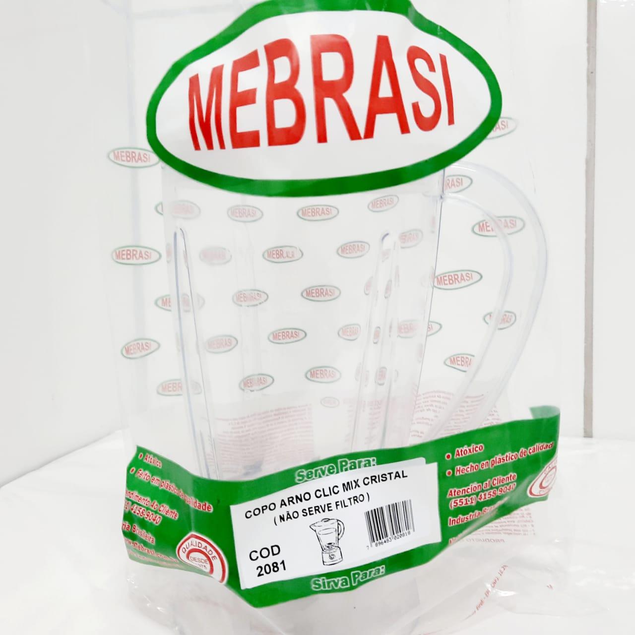 Copo Arno Cristal Clix Mix - Mebrasi