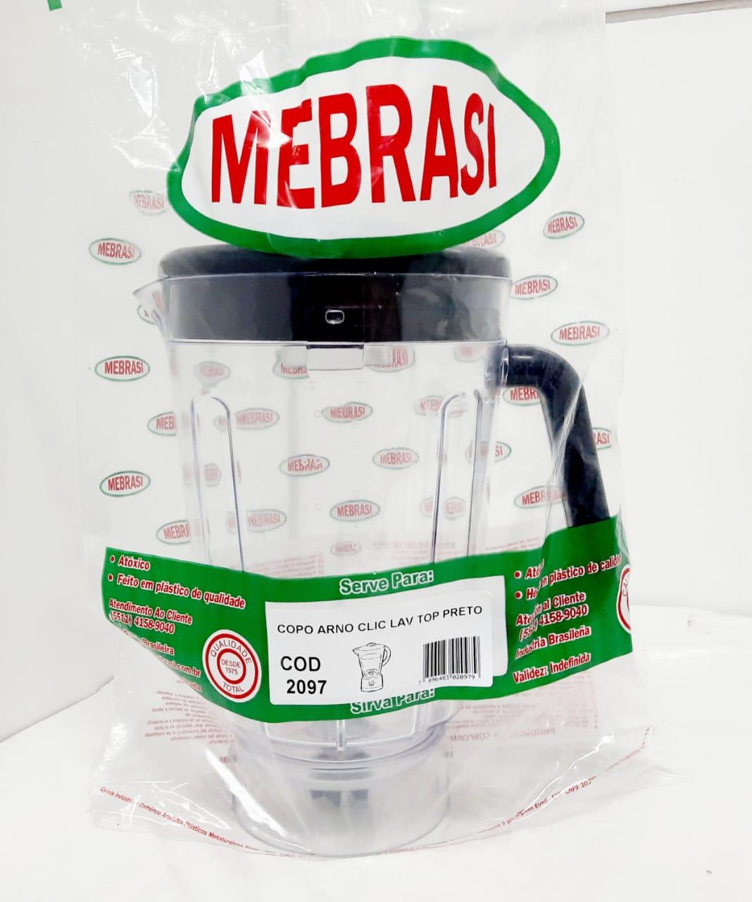 Copo Arno Cristal FU CLIC TOP - Mebrasi