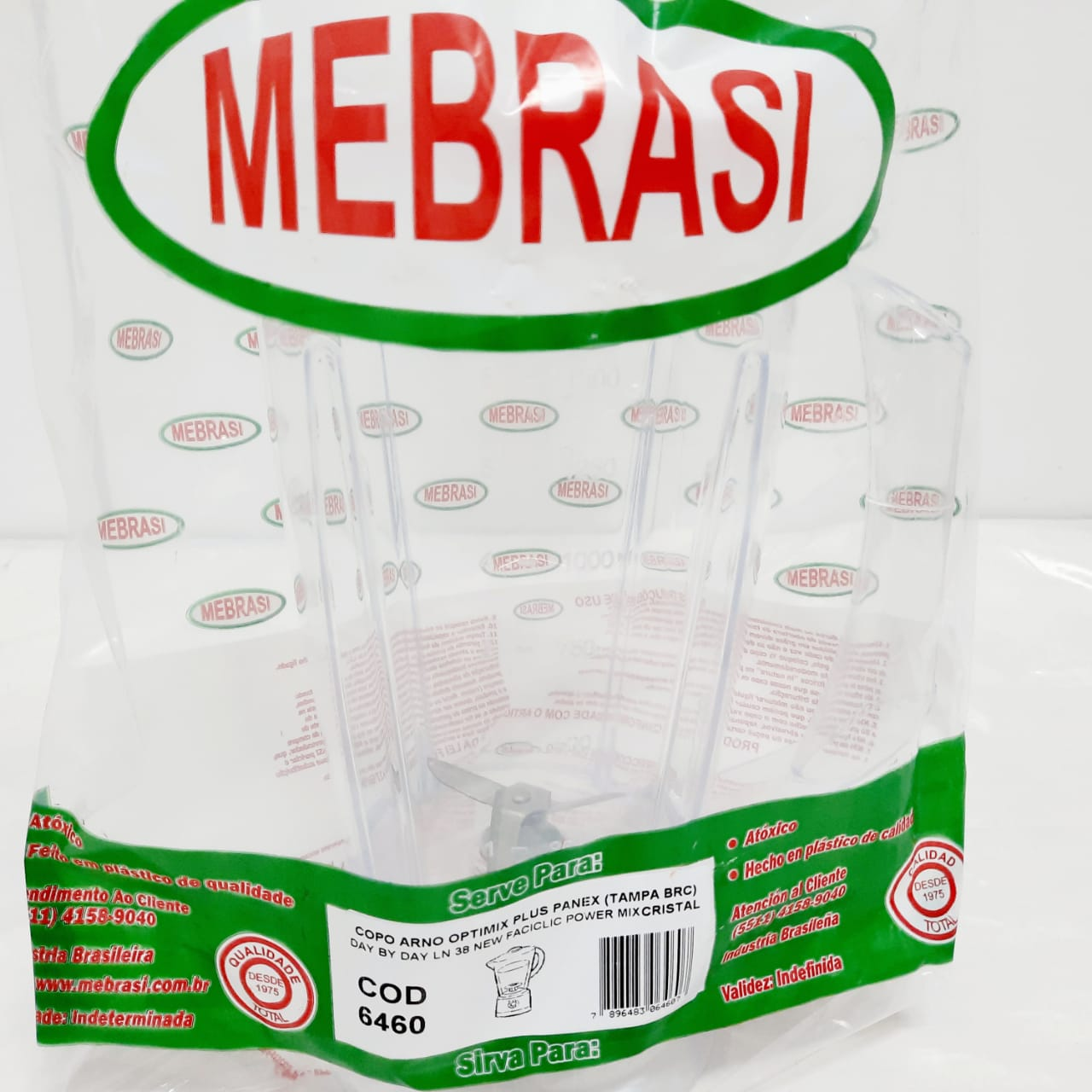 Copo Arno Cristal Optimix Plus - Mebrasi
