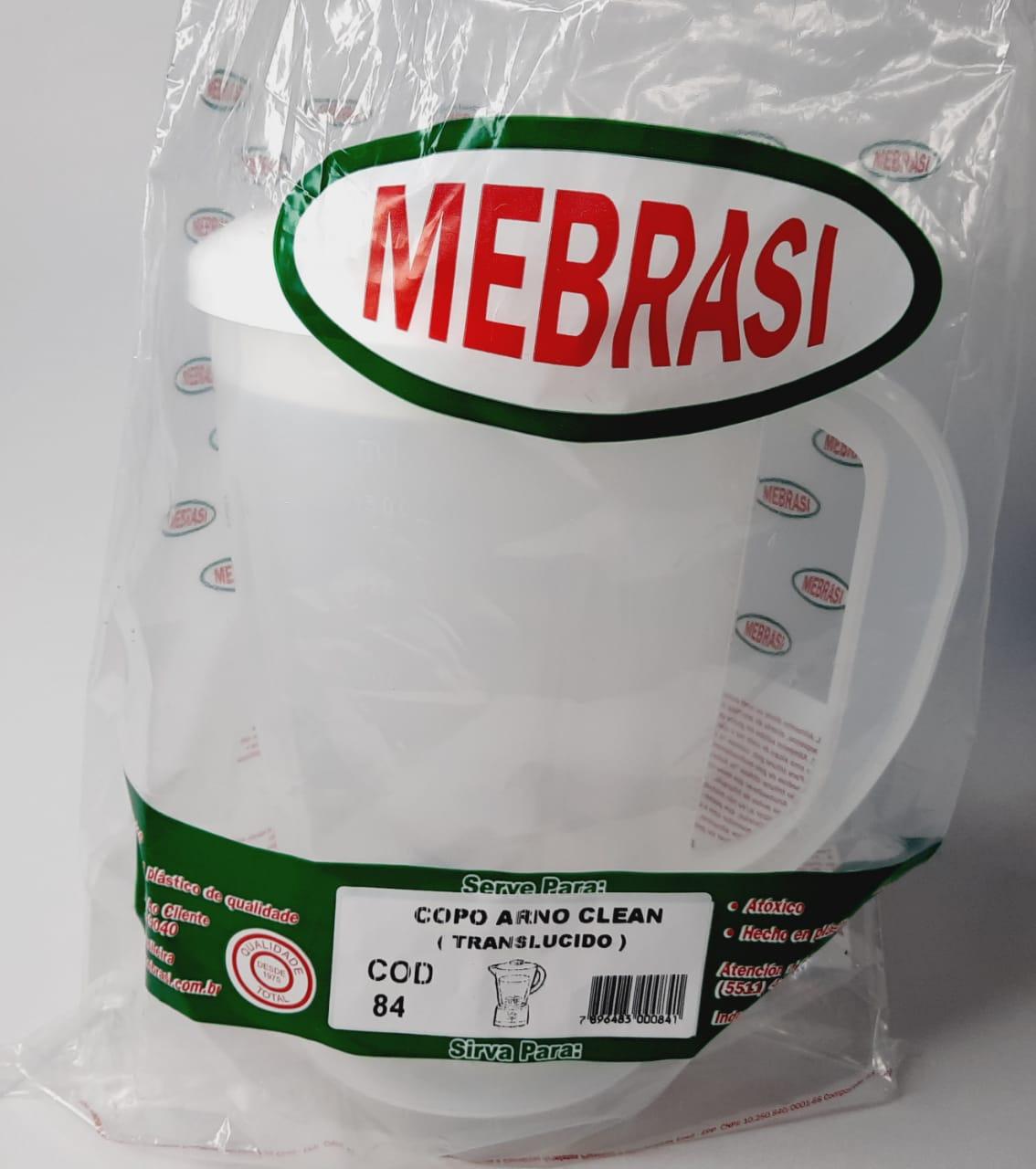 Copo Arno Translúcido Auto Clean - Mebrasi