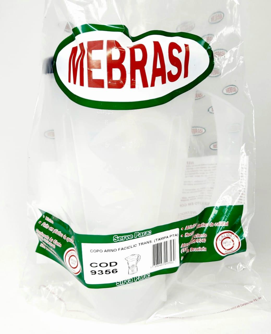 Copo Arno Translúcido Faciclic T/PT - Mebrasi