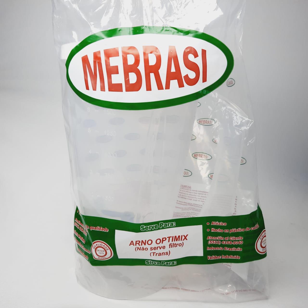 Copo Arno Translúcido Optimix - Mebrasi