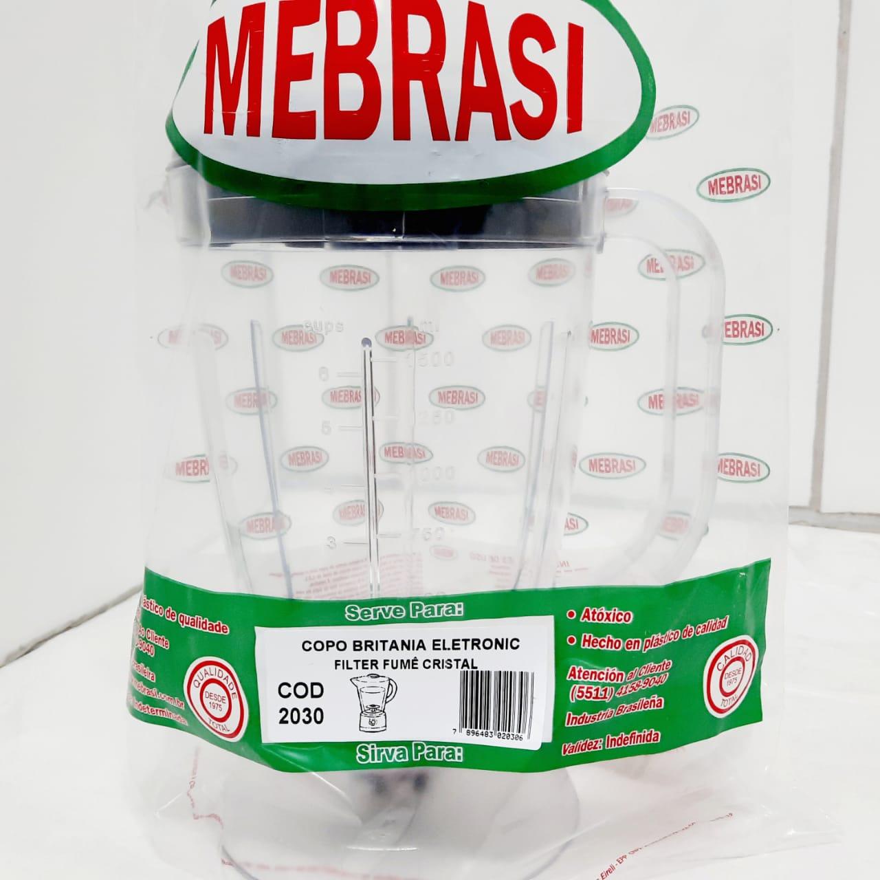 Copo Britânia Cristal FUM ELET/FILT - Mebrasi