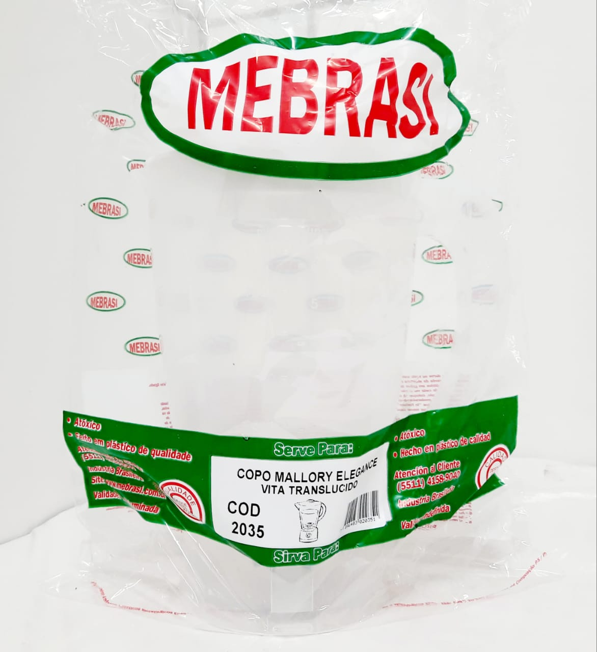 Copo MALL TRAN ELEG - Mebrasi