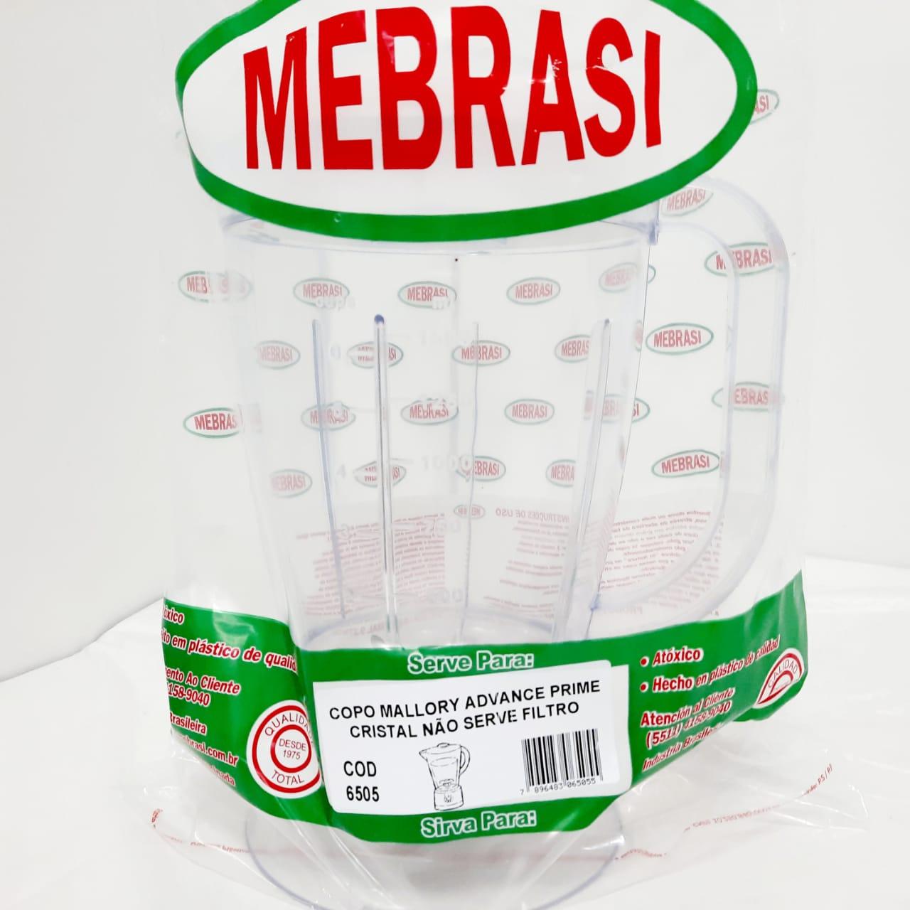 Copo Mallory Cristal ADV PRIM - Mebrasi